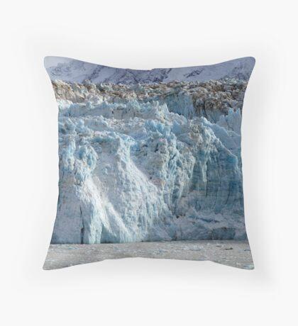 Hubbard Glacier - Alaska Throw Pillow
