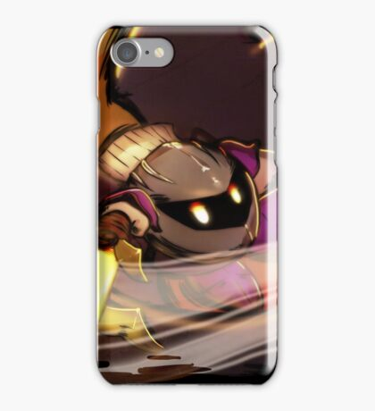 Metaknight! The Warrior from the Distant Stars! iPhone Case/Skin