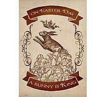 Bunny King Photographic Print