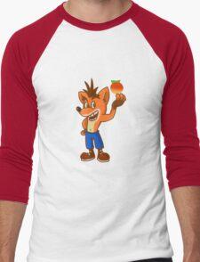 crash bandicoot! Men's Baseball ¾ T-Shirt
