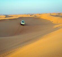 desert dunes by milena boeva