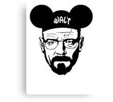 Walt mouse ears Canvas Print