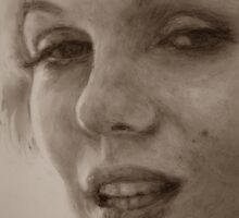 """Detail of """"Aphrodite"""" by Alice McMahon"""