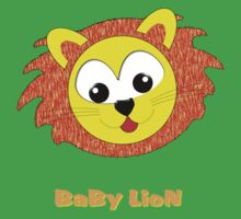 A Baby Lion T-shirt & leggings, etc One Piece - Short Sleeve
