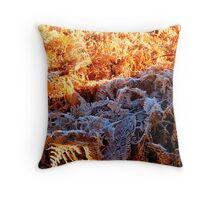FROZEN FERN...... Throw Pillow