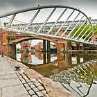 Bridges of Castlefield, Manchester by Stephen Knowles