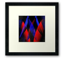 Midnight geometry two Framed Print