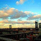 Manhattan Bridge NYC by Jeanluc