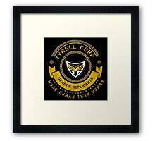 Tyrell Corporation Crest Framed Print