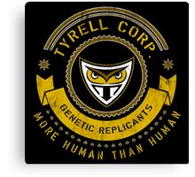 Tyrell Corporation Crest Canvas Print