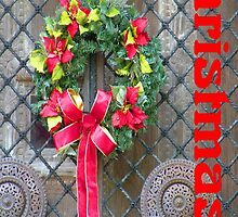 Christmas Wreath by Rosalie Scanlon