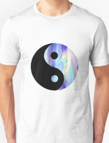 Blue Watercolor Yin Yang T-Shirt
