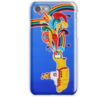 beatles: yellow submarine iPhone Case/Skin