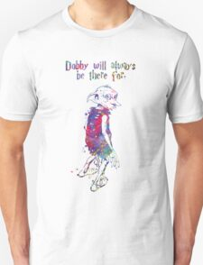 Dobby Quote from Harry Potter Watercolor T-Shirt