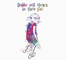 Dobby Quote from Harry Potter Watercolor Unisex T-Shirt