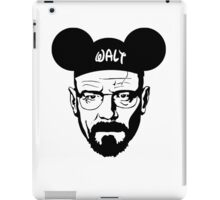 Walt mouse ears iPad Case/Skin