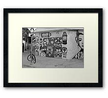 Dub Street Framed Print