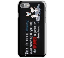 pinky and the brain- Kennedy quote iPhone Case/Skin