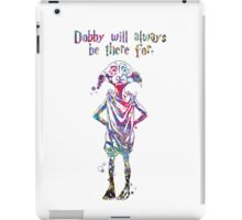 Dobby Quote from Harry Potter Watercolor  iPad Case/Skin