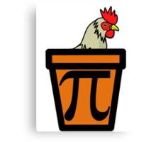 Chicken Pot Pi Canvas Print