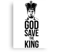 Luis Suarez - God Save The King Canvas Print