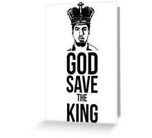 Luis Suarez - God Save The King Greeting Card