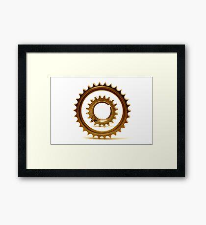 gears 4 Framed Print