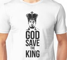Luis Suarez - God Save The King Unisex T-Shirt