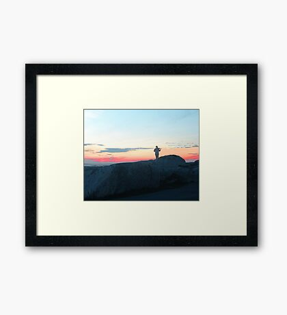 Music for an Evening Framed Print