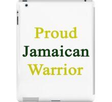 Proud Jamaican Warrior  iPad Case/Skin