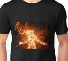 Fire Man Unisex T-Shirt