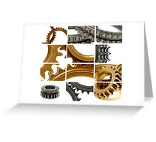 gears coposition Greeting Card