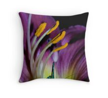 Lilly and the Katydid Throw Pillow