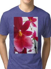 Red Orchid Tri-blend T-Shirt