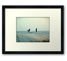 Photoshoot Framed Print