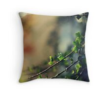 Like the changes that autumn brings, we need the courage to go ahead Throw Pillow