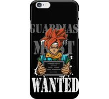 Guardias Most Wanted iPhone Case/Skin