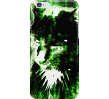 Matrix Cat iPhone Case/Skin