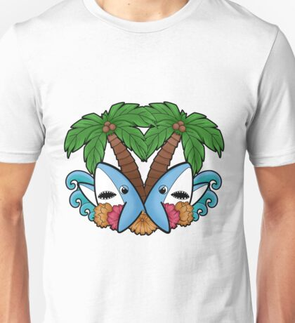 Left and right are in da house! -white- Unisex T-Shirt