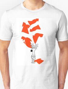 Rudolph Loses his Shirt T-Shirt