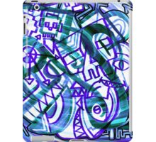 PIXEL NIGHTMARE VORTEX iPad Case/Skin