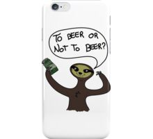Lovely Sloth iPhone Case/Skin