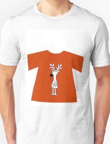 Rudolph reindeer t-shirt  T-Shirt