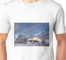 Blackrock Cottage, Glencoe, Scotland  Unisex T-Shirt