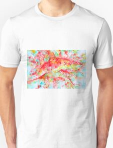 A SUDDEN TURN CAN COME,A ROAD APPEAR Unisex T-Shirt
