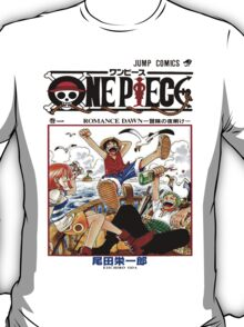 One Piece Volume 1 Manga Cover T-Shirt