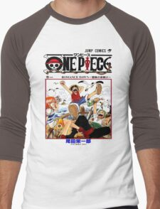 One Piece Volume 1 Manga Cover Men's Baseball ¾ T-Shirt