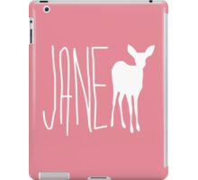 jane doe iPad Case/Skin