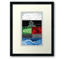 Murder Palette Framed Print