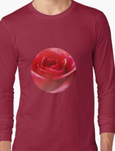 Red rose Close up Long Sleeve T-Shirt